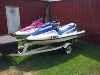 I have a blue/white 2001 polaris virage 700 with new