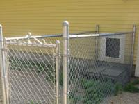 I have 3 dog kennel runs that each include a gate. They