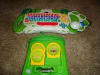We have 3 learning computers **LeapFrog - Click Start