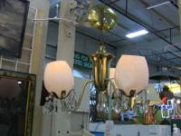 Beautiful mid-century small chandelier, perfect for