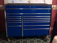 what i have forsale is a mechanics tool box. the top is