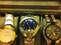 3 different watches all work but need new batteries. No