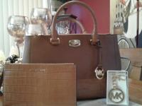 Brand New 3 MK items MICHAEL KORS KELLEN LEATHER