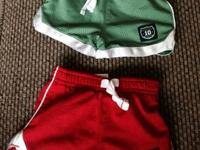 Baby boy size 3 month carter shorts- $5 for both- like