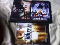 SELLING 3 MOVIES DANCE FLICK CURSE OF THE ZODIAK(BASED