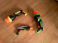3 Nerf guns call or text  or make an offer Location: