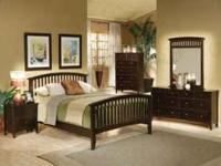 This set is brand new. 4pc Set includes Queen bed