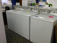 I have three Brand-new Maytag Leading loading washers!