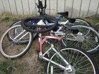 3 next style bikes walmart brand for parts or make two