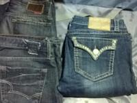 i am selling my womens big star and la idol jeans size