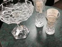 I have two Lenox Crystal Star Vases and one flat