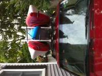 Up for sale are 3 Pelican Ultimate 100 Kayaks (2 red &