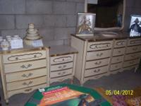 I have a dresser with mirror, small chest of drawers,