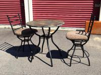 Type: Kitchen This bistro set can be used in a small