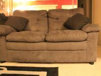 Grey 3 piece couch set purchased brand new about 4