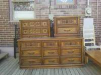 I have for sale a three piece dresser set in great