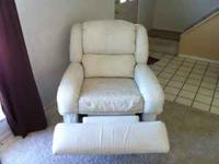 3 Piece Lane leather couch, love seat and recliner,