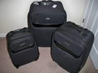 3 piece luggage set from Belks - Anne Klein brand.