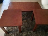 1 Coffee Table 2 End Tables All items purchased in late