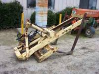 3 POINT KIMCO FORKLIFT ATTACHMENT ASKING $900.00 CALL