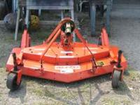 09 finishing mower, befco, less than 5 gours on it, and