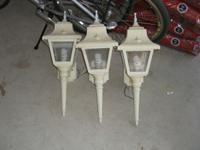 Porch/Garage Lights....These are in good condition ..we