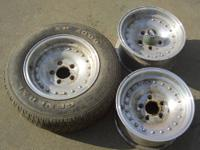 3 fairly dirty, nasty wheels. They have been in my