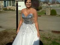 have 3 prom gowns for sale. I have a white one that is