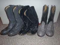 I have 3 pairs of Hondo roper boots that I don't know