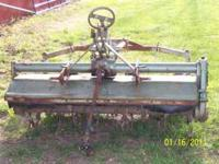 Yanmar five foot tiller in good condition. Ph