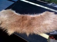 There are 3 Real Beautiful Fur Collars!!! A red fox,