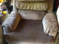 I have three recliners for sale - One is a brown