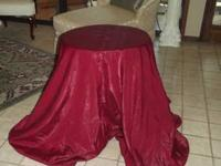 3 Round Table Cloths That are in great condition and