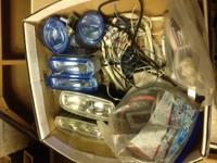 Three sets of Fog lights for a car or truck $40.00 you