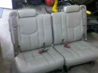 I have a really nice set of tan leather seats that are