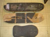"3 Skateboards: 1 is 31"" long......1 is 30"" long and the"
