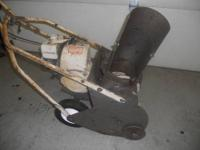 Craftsman 15 inch with a 3.5hp engine. Chain drive. No
