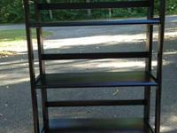 I have 3 very nice foldable shelving units - I