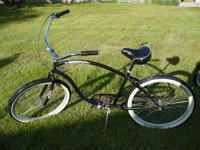 I have 2 3-speed Beach Cruisers:.  A Firmstrong