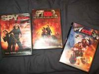 3 Spy Kids Dvd's, makes them 3.30 each. The original