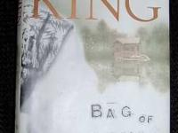 I have 3 hard back books of the novel STEPHEN KING BAG
