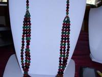 Brand name New! Magnificently crafted 3 Strand Dyed