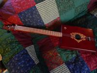 Nicely crafted with a great sound, 3 String Cigar Box