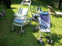 3 STROLLERS FOR SALE..........LOKING FOR A GOOD