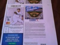 I have Three LA Dodger tickets for sale. RF Pavilion