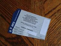 I have for sale 3 tickets to Five Finger Death Punch in