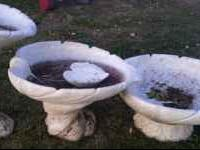 I Have a 3 tier fountain for sale. solid concrete. i