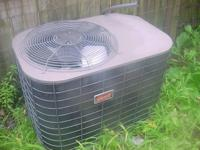 3-ton Coleman central air conditioner. Energy Star and