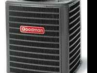 1 1/2 year old, $2,100.00 , 3 ton Goodman Heat Pump AC