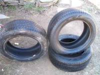 For sale are 3 225 55 17 Goodyear Assurance. 2 of the